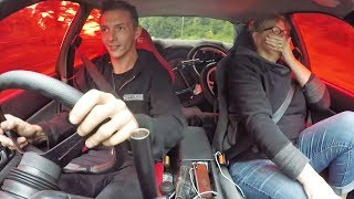 Download Scaring my Teacher in the 600HP R32 Skyline Video
