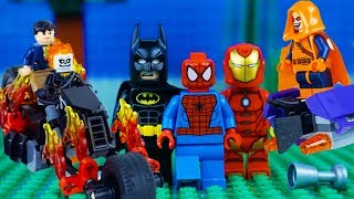 Download LEGO Super Heroes STOP MOTION LEGO Marvel vs DC COMPILATION | LEGO Superhereos | By Billy Bricks Video