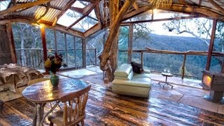Download The World's Best Treehouse (with a spa!) - is also the World's Best Airbnb! Video