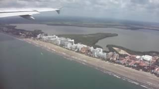 Download Vuelo LA3095 ,operado por LATAM Cartagena a Bogota, 17 septiembre 2016,Colombia Video