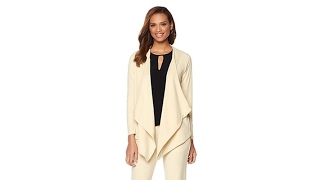 Download That Woman! by Marlo Thomas Draped Front Jacket Video
