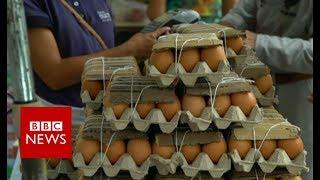 Download Venezuela crisis: the view from Caracas farmers' market - BBC News Video