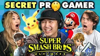 Download Professional Smash Bros Player DESTROYS Gamers (React) Video