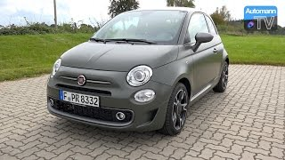 Download 2017 FIAT 500s TwinAir (105hp) - DRIVE & SOUND (60FPS) Video