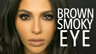Download Brown Smokey Eye Makeup Tutorial | Teni Panosian Video