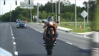 Download Custom Hayabusa Stretched on a 240 riding 1st gear wheelies.. Video