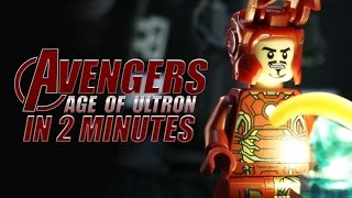 Download LEGO The Age of Ultron in 2 Minutes Video