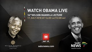 Download Live in 360 degrees | Barack Obama delivers 16th Nelson Mandela Annual Lecture, 17 July 2018 Video