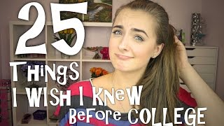 Download 25 Things I Wish I Knew Before Freshman Year at College♥ Video