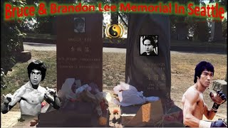 Download Bruce Lee & Brandon Lee Memorial In Seattle | Founder of Jeet Kune Do | Father of MMA Video