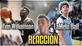 Download LaMelo Ball vs Zion Williamson | REACCIÓN Video
