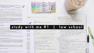 Download study with me #1 | law school Video