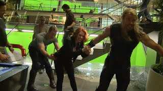 Download Marvel's Avengers Age of Ultron: Fun Behind the Scenes Look at the Actors' Relationship Video
