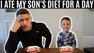 Download I ate my son's diet for a day Video