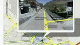Download The Tour de France in Google Maps Street View Video