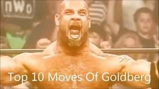 Download Top 10 Moves Of Goldberg Video