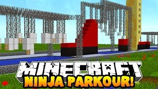 Download Minecraft NINJA WARRIOR PARKOUR COURSE! (Special Obstacles!) w/PrestonPlayz & Kenny Video