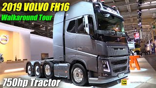 Download 2019 Volvo FH16 750hp Tractor - Exterior and Interior Walkaround - 2019 IAA Hannover Video