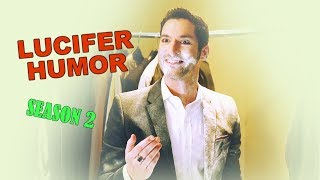 Download LUCIFER | ″Who stole my pudding again?″ (S2 HUMOR) Video