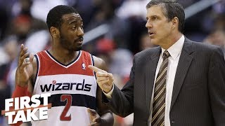 Download John Wall clashing with Wizards' head coach is nothing new – Stephen A. | First Take Video