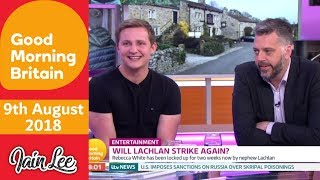Download Emmerdale's Thomas Atkinson aka Killer Lachlan White - Good Morning Britain Video