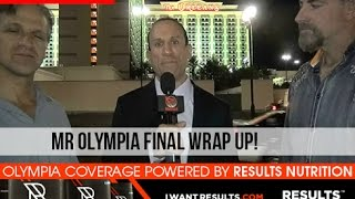 Download 2015 Mr. Olympia Finals Wrap Up (Powered by Results Nutrition) Video