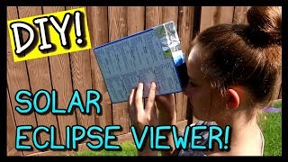 Download HOW TO MAKE A SOLAR ECLIPSE VIEWER - 2 MINUTES!! Video