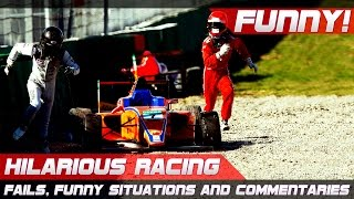 Download HILARIOUS RACING! Best of Fails, Funny Situations and Commentaries of 2016 Compilation Video