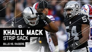 Download Khalil Mack's Clutch Strip Sack Ices the Game! | Bills vs. Raiders | NFL Video