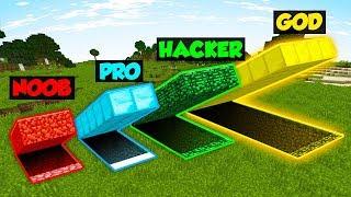 Download Minecraft NOOB vs. PRO vs. HACKER vs. GOD: SECRET HIDEOUT in Minecraft! (Animation) Video