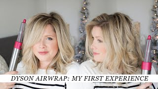 Download My FIRST TIME trying the Dyson Airwrap Styler Video
