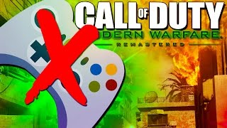 Download BREAKING CONTROLLERS! - Call of Duty Modern Warfare Remastered! Video