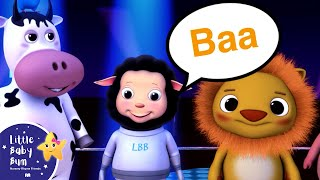 Download The Animal Sounds Song for Children | Nursery Rhymes | by LittleBabyBum! Video