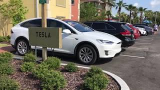 Download Tesla Destination Charger, Tryp by Wyndham Sebastian St. Augustine Video
