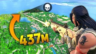 Download 437m NEW WORLD RECORD SHOT..!! | Fortnite Funny and Best Moments Ep.79 (Fortnite Battle Royale) Video