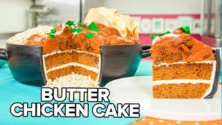 Download Butter Chicken CAKE!! | Pumpkin Spice & Caramel | How To Cake It Video