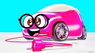 Download Build Your Own Toy Car That Runs on Salt Water - Exciting Experiments with Slime Sam Video