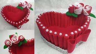Download 103) Ide Kreatif - Kreasi tempat permen dari kain flanel    candy love   the idea of flannel cloth Video