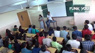 Download BEST CLASSROOM PRANK EVER!!! Professor Stabbed in Lecture (Prank in India) Video