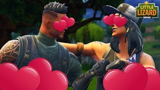 Download WHEN TWO NOOBS FALL IN LOVE IN FORTNITE! Fortnite Short Film Video