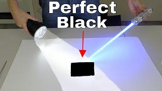Download Darker Than Vantablack—Absorbs 99.9923% of Light Video