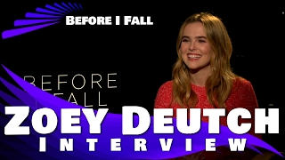 Download BEFORE I FALL - Zoey Deutch Interview Exclusive Video