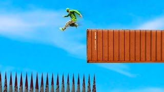 Download IMPOSSIBLE SKY HIGH DEATH JUMP! (GTA 5 FUNNY MOMENTS) Video