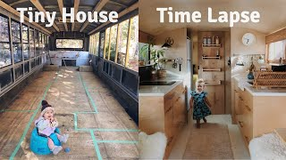 Download Amateur Builder Turns School Bus into GORGEOUS Tiny House: 18 Month TIME LAPSE Video