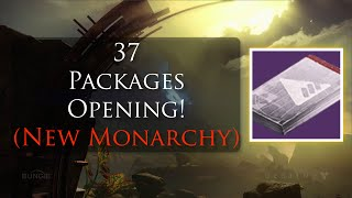 Download Destiny - Opening 37 Legendary (New Monarchy) Packages! Video