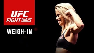 Download UFC Fight Night Sacramento: Official Weigh-in Video