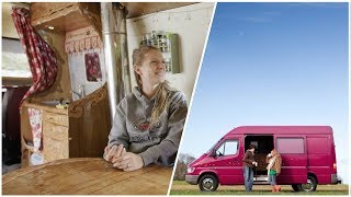Download COUPLE Creates SUCCESSFUL BUSINESS from THIS Van Conversion Video
