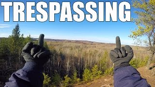 Download Trespassing onto an Active Mine Video