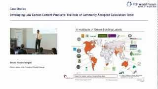 Download BRUNO VANDERBORGHT: DEVELOPING LOW CARBON CEMENT PRODUCTS, 5TH PCF WORLD SUMMIT Video