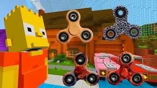 Download Bart Gets A Fidget Spinner | The Simpsons | Minecraft Xbox [63] Video